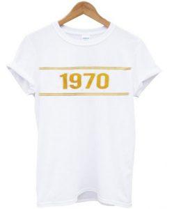 1970 yellow t-shirt BC19