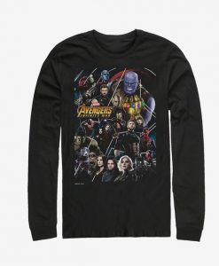 Marvel Avengers Poster Long-Sleeve T-Shirt