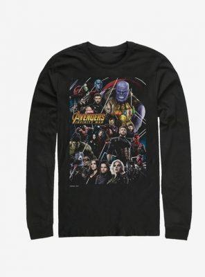 Marvel Avengers Poster Long-Sleeve T-Shirt