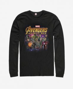 Marvel Avengers: Infinity War Character Shot Long Sleeve T-Shirt