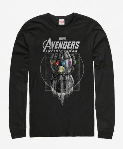 Marvel Ancient Gauntlet Long-Sleeve T-Shirt