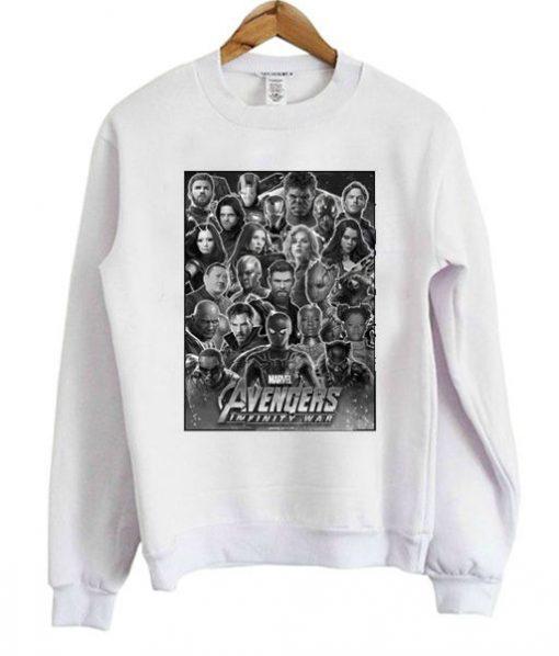 Avenger Infinity War Sweatshirt