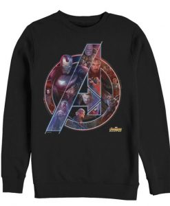 Mens - Marvel Avengers: Infinity War Logo