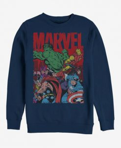 Marvel Avengers Team Sweatshirt