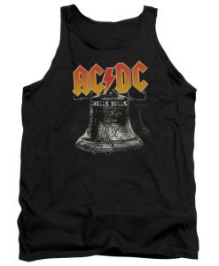 Acdc Hell's Bells Adult Tank Top BC19