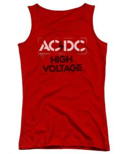 Acdc High Voltage Tank Top BC19