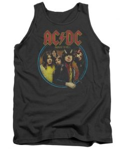Acdc Highway To Hell Adult Tank Top BC19