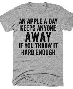 An apple a day Tshirt bc19