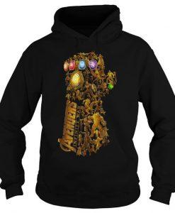 Hero of Marvel Avengers Infinity Gauntlet hoodie bc19