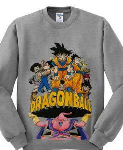 dragon ball swearshirt BC19