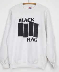 1990s Black Flag Sweatshirt ZK01