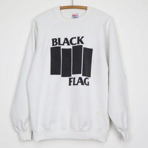 1990s Black Flag Sweatshirt ZK01