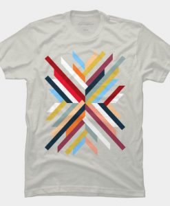 Abstract Geometric T-shirt AD01