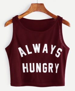 Always Hungry Crop Tanktop SN01