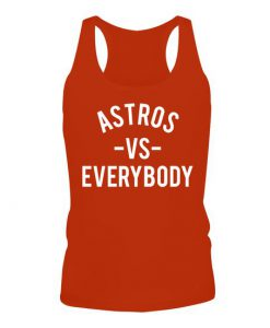 Astros vs Everybody Tank Top AD01
