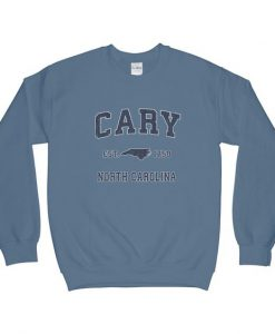 Cary North Carolina NC Sweatshirt AD01