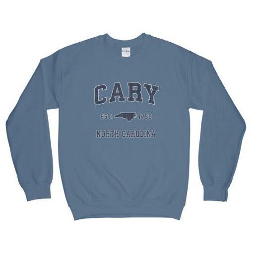 Cary North Carolina NC Sweatshirt AD01