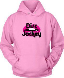 Disc Jockey Pink Hoodie ZK01
