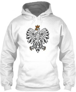 Limited Edition Eagle White Hoodie ZK01
