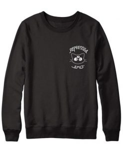 Repressed Emo Sweatshirt ZK01
