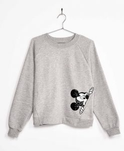 Sequinned Mickey sweatshirt SN01
