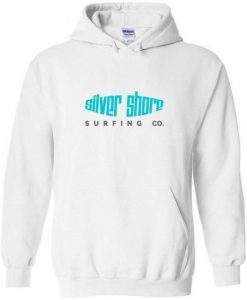 Silver Shore Surfing Hoodie SN01