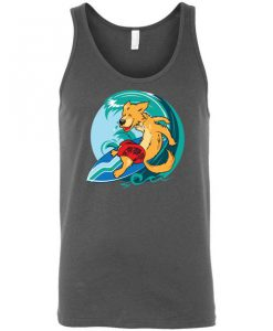 Surfing Graphic Tank Top SN01
