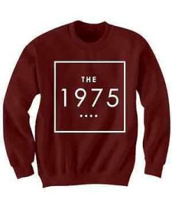 The 1975 Band Sweatshirt ZK01