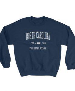 Vintage North Carolina NC Adult Sweatshirt AD01