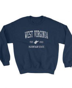 Vintage West Virginia Sweatshirt AD01