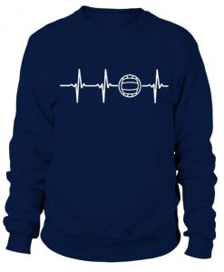 Volleyball Heart rate Sweatshirt AD01