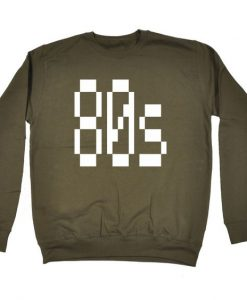 80s Eighties Sweatshirt EC01