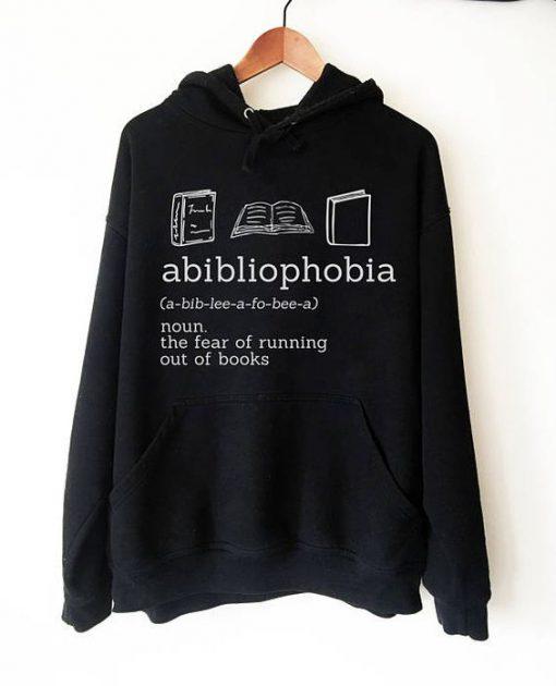 Abibliophobia Hoodie SN01