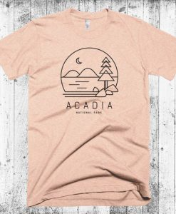 Acadia National Park Tshirt EC01