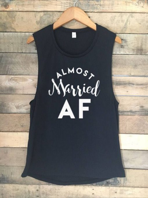 Almost Married AF Tanktop ZK01