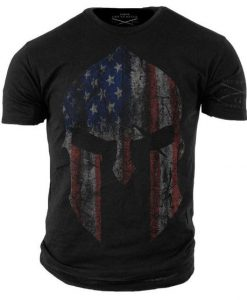 American Spartan Military Shirt ZK01