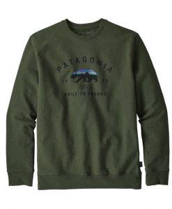 Arched Fitz Roy Bear Uprisal Crew Sweatshirt AD01