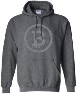 Bitcoin Classic Dark Pullover Hoodie EC01