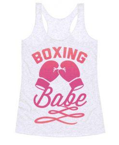 Boxing Babe Tanktop ZK01