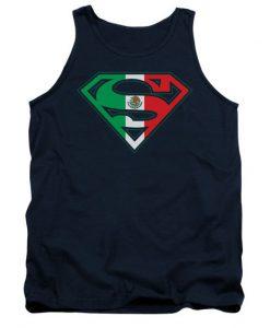 Superman Shirt Tank Top EC01