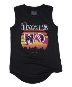 The Doors Sunset 50th Juniors Tank Top EC01