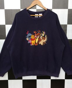 Vintage Winnie The Pooh And Friends Sweatshirt AD01