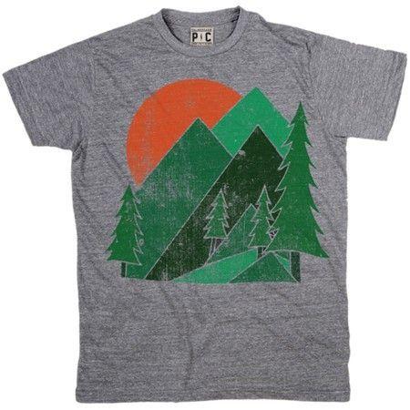 About Mountain T-Shirt SN01
