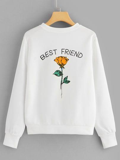 Best Friend Sweatshirt SR01