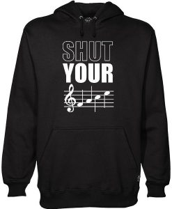 Shut Your Face Hoodie NL01