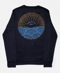 Sunset Navy Sweatshirt EC01