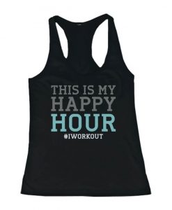 This Is My Happy Hour Tank Top SR01
