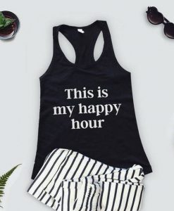 This Iss My Happy Hour Tank Top LP01