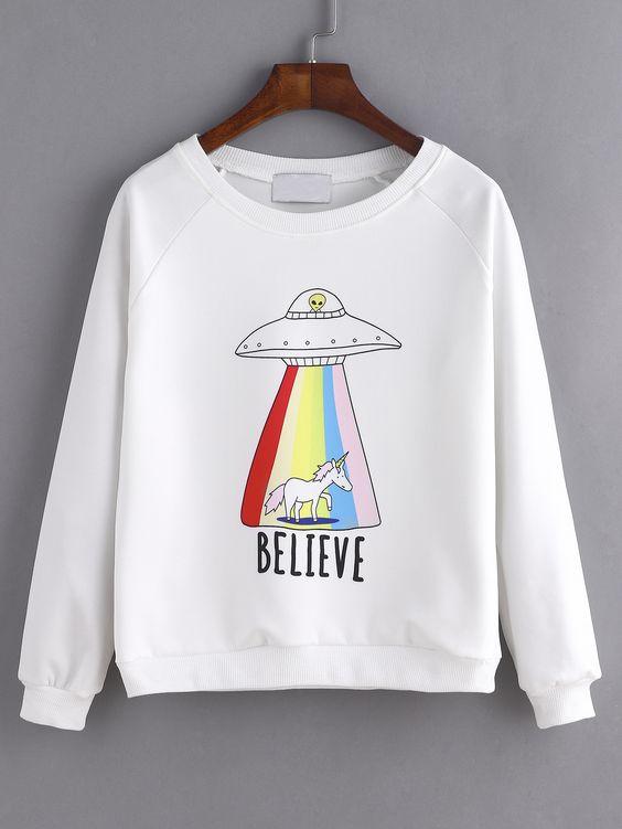 Believe Sweatshirt SR01