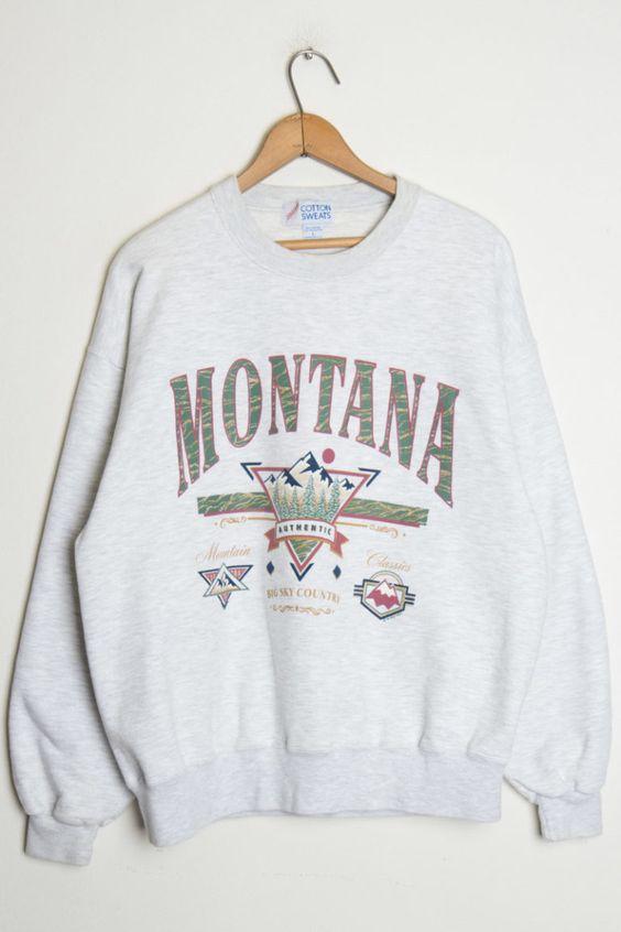 Big Sky Montana Sweatshirt EL01
